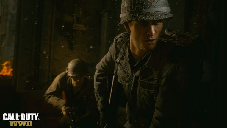 Screenshot uit 'Call of Duty: WWII'