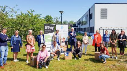Nog eens 25 laptops voor onderwijs aan kansarmen in Oudenaarde