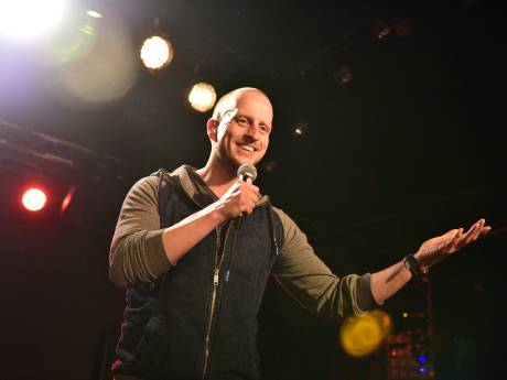 Er mag meer worden gelachen in Gouda, vindt stand-upcomedian Jeroen Jonker