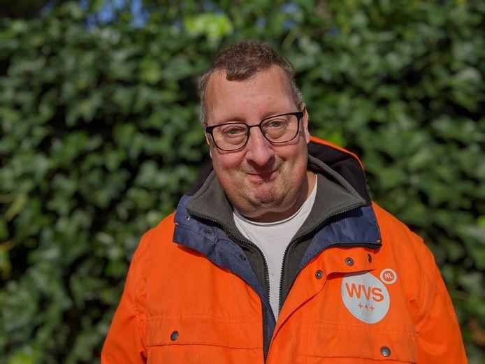 Bas Verkerk, groenwerker in Zevenbergen
