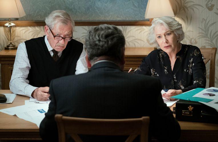 Helen Mirren en Ian McKellen spelen een verliefd koppel.