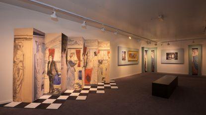 Museum Paul Delvaux zet fresco's in de kijker