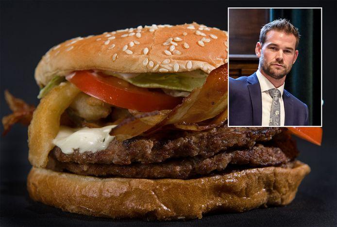 Wethouder Sven de Langen wil dat Rotterdammers gezonder gaan eten.