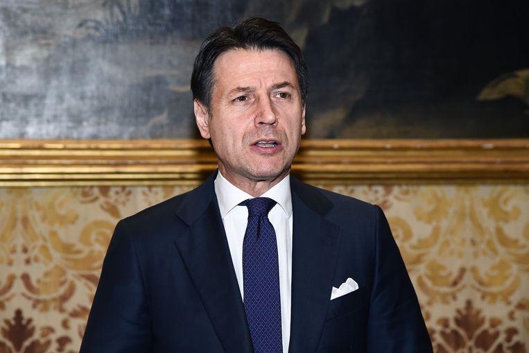 Premier Giuseppe Conte verwacht dat de Italiaanse economie pas in het tweede kwartaal van dit jaar zal herstellen.