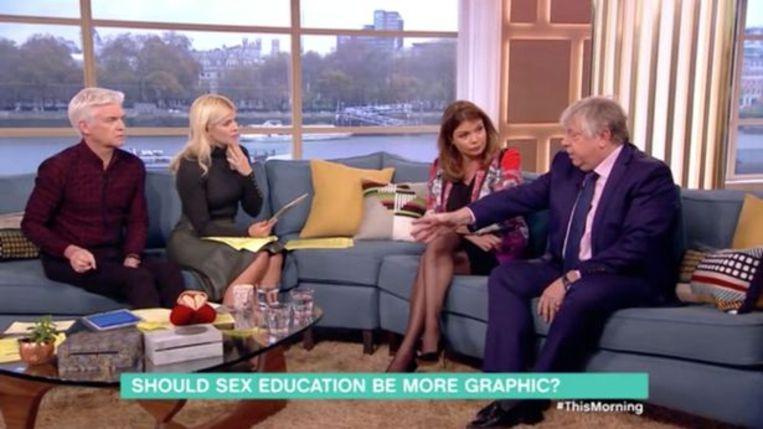 Goedele Liekens zat in 'This Morning' bij ITV.