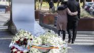 Ingetogen herdenkingsceremonie voor slachtoffers 22/3