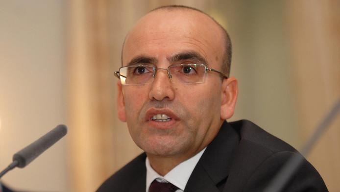 Vice-premier Mehmet Simsek.