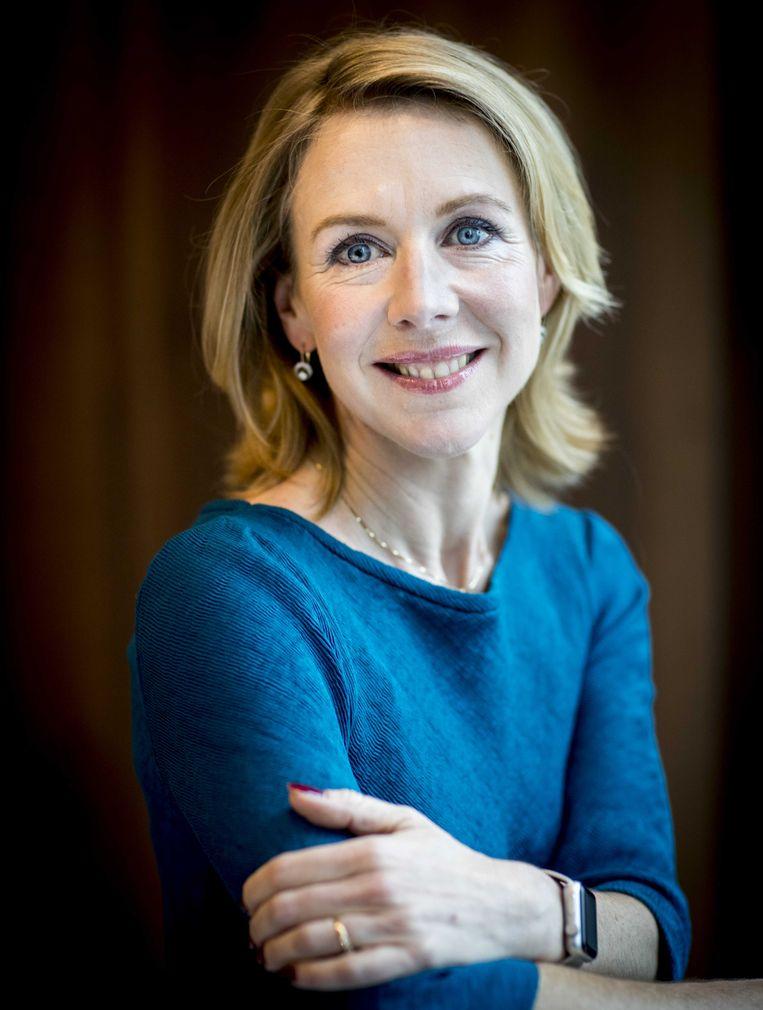 Staatssecretaris Stientje van Veldhoven (D66) van Infrastructuur en Waterstaat.  Beeld ANP