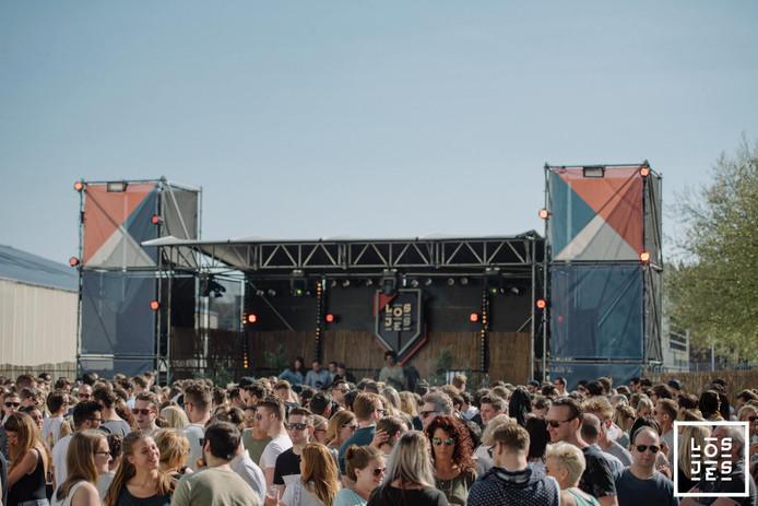 Het Losjes-festival op de Tramkade