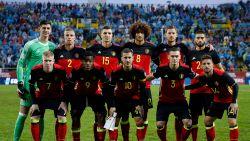 Rode Duivels oefenen tegen Portugal en Saoedi-Arabië