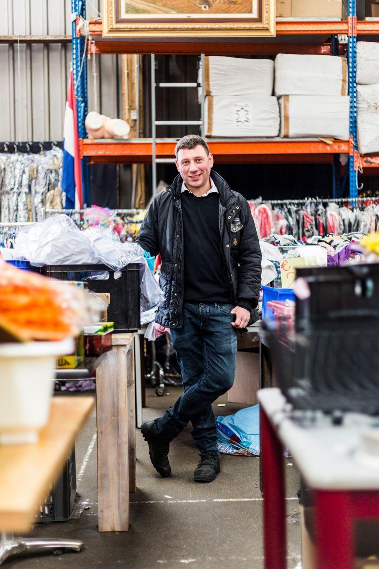 Gideon Italiaander: 'Ik zal buiten de stad moeten zoeken. De prijzen in Amsterdam kan ik niet opbrengen' Beeld Tammy van Nerum