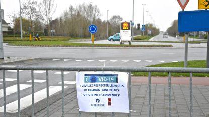 Politie houdt grenscontroles, geen Belgen meer naar Frankrijk en omgekeerd