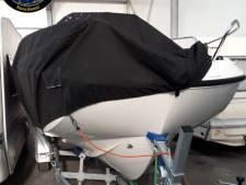 In Duitsland gestolen boot duikt op in loods in Zeewolde