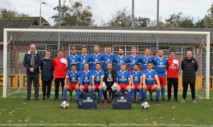 Het tweede elftal van Zinkwegse Boys aast op een mooie wedstrijd.