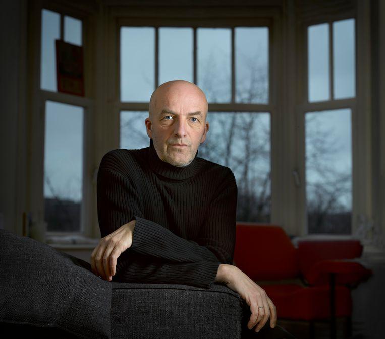 Arjan Visser interviewt iedere twee weken iemand aan de hand van de Tien Geboden.  Beeld Mark Kohn
