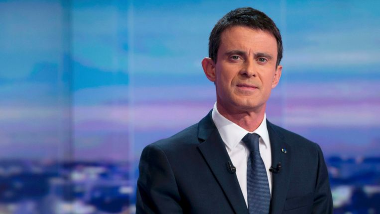 Manuel Valls. Beeld REUTERS