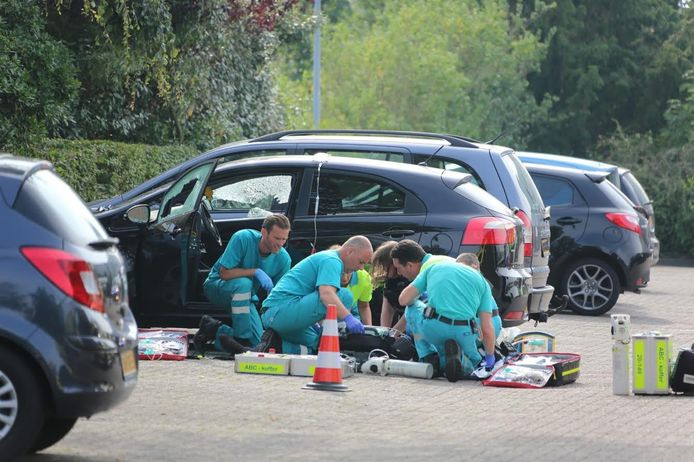 Schietpartij bij het TweeSteden ziekenhuis in Waalwijk.