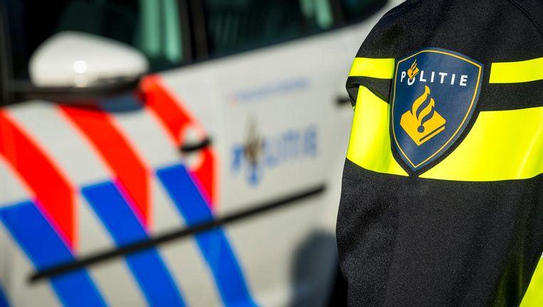 De politie rukte uit naar Zuidoost Beeld anp