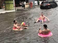 Nederlanders 'wereldberoemd' na geintje tijdens waterballet Thailand