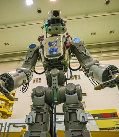 Ruimterobot Fedor zweeft nog even rond na mislukte koppeling met ISS