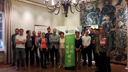 Project 'Netwerk mobipunten' wil 19 mobipunten realiseren in Oost-Vlaanderen