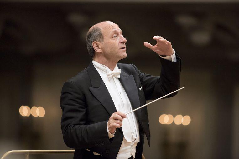 Dirigent Iván Fischer. Beeld Marco Borggreve