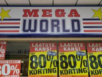 Toekomst winkelketen Mega World blijft nog even onduidelijk