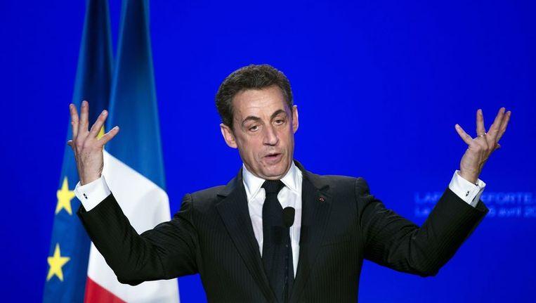 Voor zijn verkiezing in 2007 beloofde Sarkozy om de werkloosheid te verlagen tot 5 procent. Beeld afp
