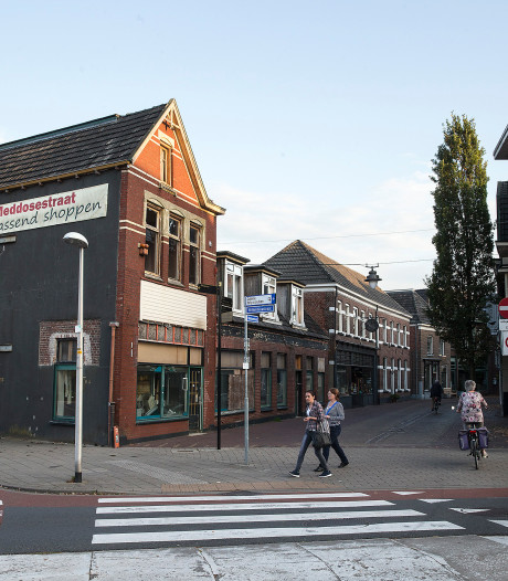 Nieuwe blikvanger op kop van Meddosestraat Winterswijk