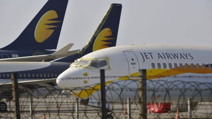 Jet Airways annuleert alle vluchten door financiële problemen