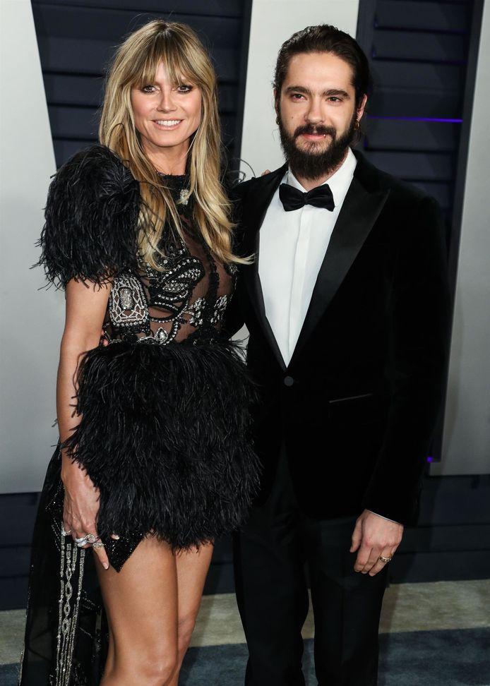 Tom Kaulitz en zijn verloofde, Heidi Klum.