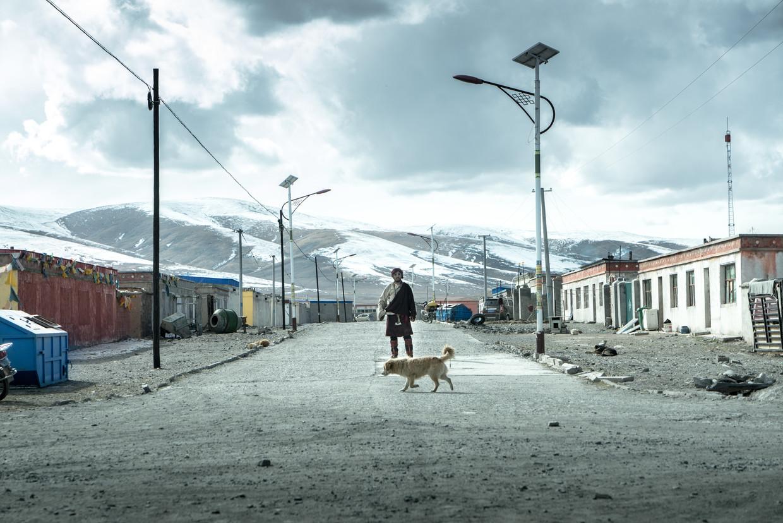 Jinpa is opgenomen op een zelden vertoonde locatie, de Tibetaanse hoogvlakte