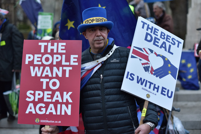 Onduidelijkheid na afschieten Brexit-deal.
