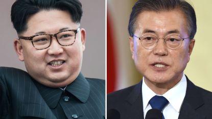 Noord- en Zuid-Korea openen rode telefoonlijn tussen hun leiders