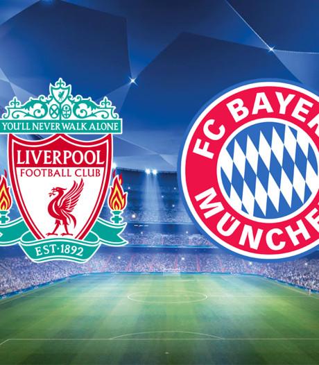 LIVE | Wijnaldum fit voor kraker tegen Bayern