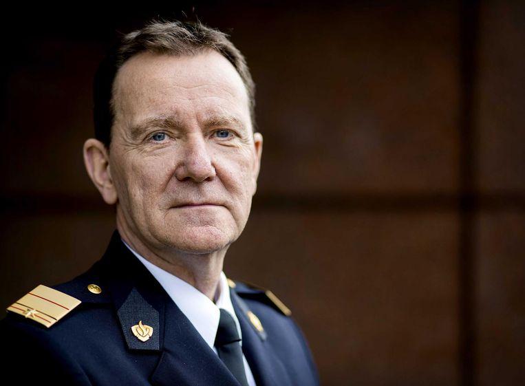 Oud-commissaris Leen Schaap, nu brandweercommandant, wordt ook beboet. Beeld ANP