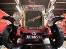 Restauratie unieke motorbrandspuit na jaren voltooid: 'Magirus' uit Waddinxveen rijdt weer als een zonnetje