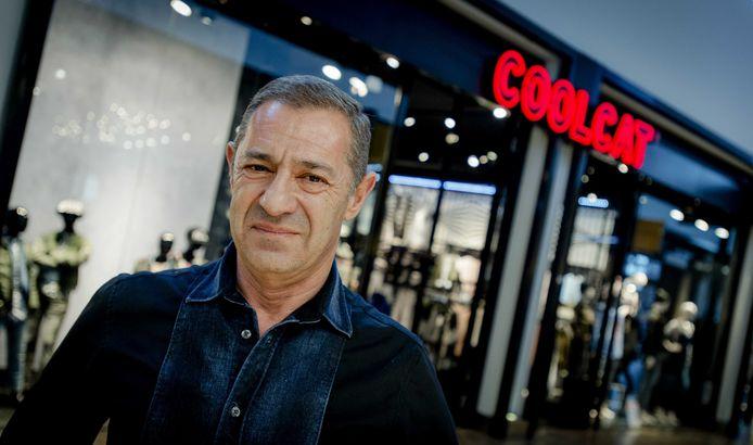 Ondernemer Roland Kahn, eigenaar van kledingketen America Today.