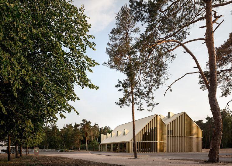 Parkpaviljoen, Otterlo. Architect: De Zwarte Hond & Monadnock. Opdrachtgever: Stichting Het Nationale Park de Hoge Veluwe. Beeld Stijn Bollaert