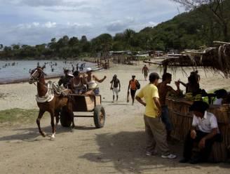 Dakloze Haïtianen zetten zich schrap voor tropische storm