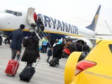 Veel overlast voor reizigers Eindhoven Airport door staking Frankrijk