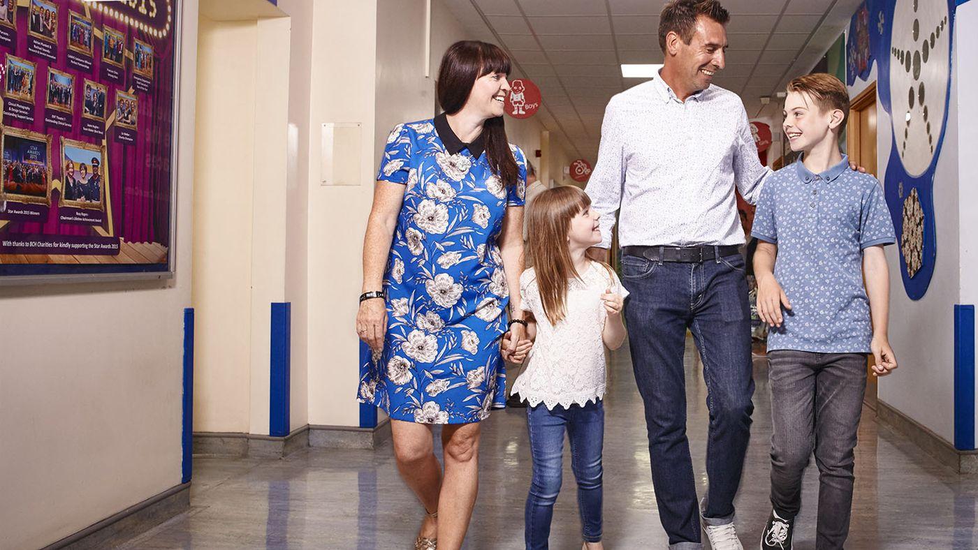 Inside Birmingham Children's Hospital