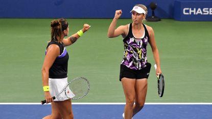 """Mertens dolgelukkig met finaleplaats in dubbelspel US Open, maar: """"Het is nog niet gedaan"""""""