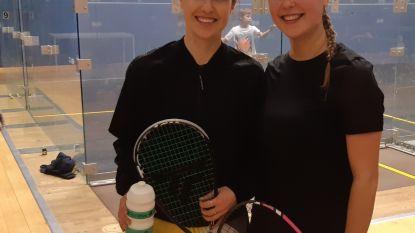 Geelse squashkampioenen Nele en Tinne Gilis trekken samen de wereld rond