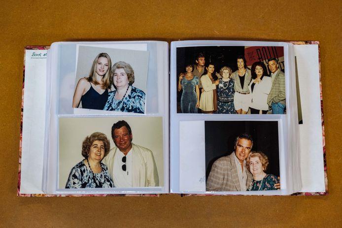 Maria Snoeys-Lagler ging in haar carrière op de foto met honderden Hollywood-sterren. Ze hield de foto's bij in dit album.