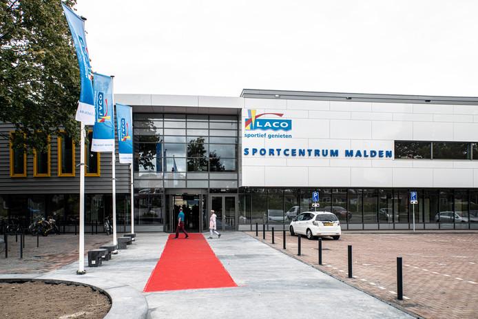 Het nieuwe LACO Sportcentrum Malden met fitnessruimte, sporthal, fysiotherapie en 25 meter zwembad.