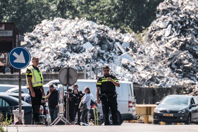 Donderdag werd een inval gedaan bij afvalverwerker Ter Horst.