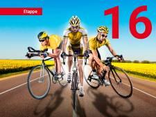Tourspel: Uitslagen van de 16e etappe