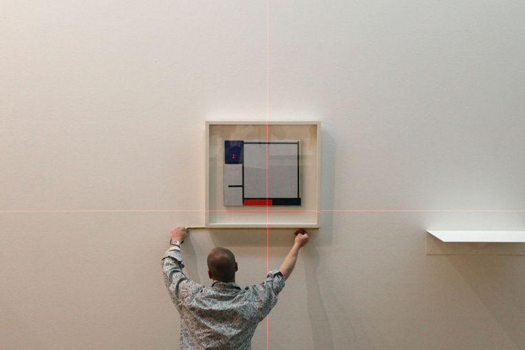 Werk van Piet Mondriaan. Foto ANP Beeld