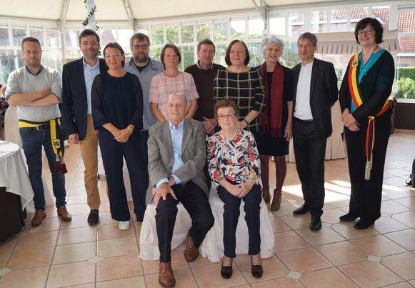 Maurits Verhaeghe en Madeleine 't Kint